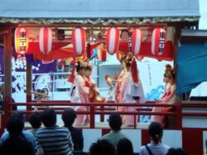 越ヶ浜厳島神社管絃祭の画像2