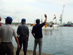 ふぐはえ縄船団出航式の画像2