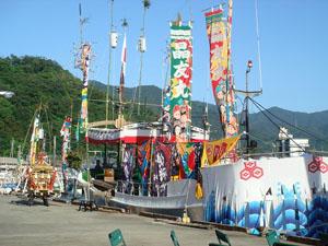 越ヶ浜厳島神社管絃祭の画像1