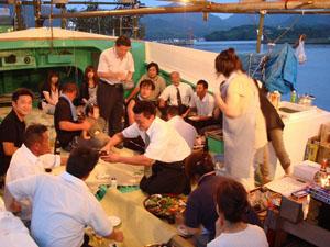 越ヶ浜厳島神社管絃祭の画像3