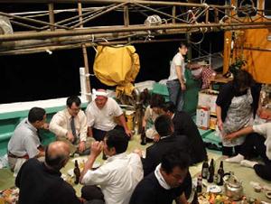 萩越ヶ浜厳島神社管絃祭の画像2