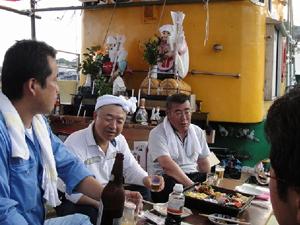 萩越ヶ浜厳島神社管絃祭の画像1