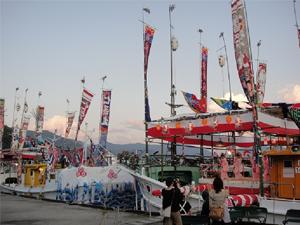 萩越ヶ浜厳島神社管絃祭の画像3