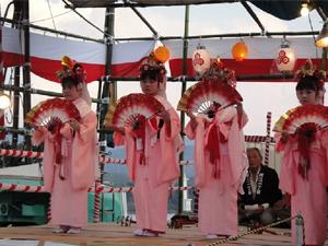 萩越ヶ浜厳島神社管絃祭の画像4