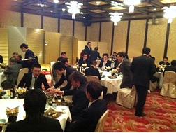 仲卸協同組合・買受人組合・唐戸魚市場合同新年会の画像1