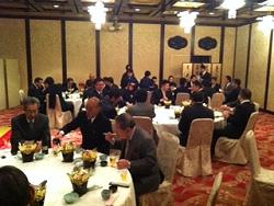 仲卸協同組合・買受人組合・唐戸魚市場合同新年会の画像2