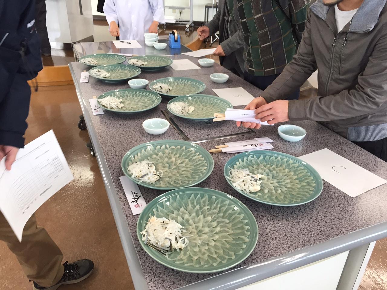 養殖トラフグ試食会のメイン画像