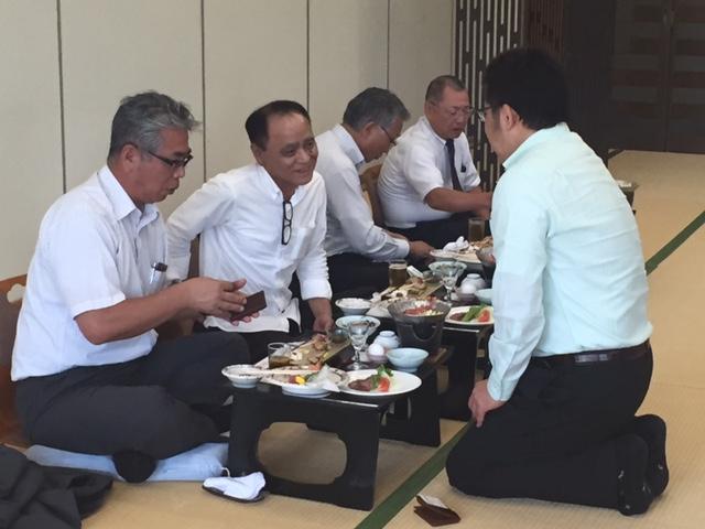 萩越ヶ浜ふぐ延縄船団懇親会の画像1