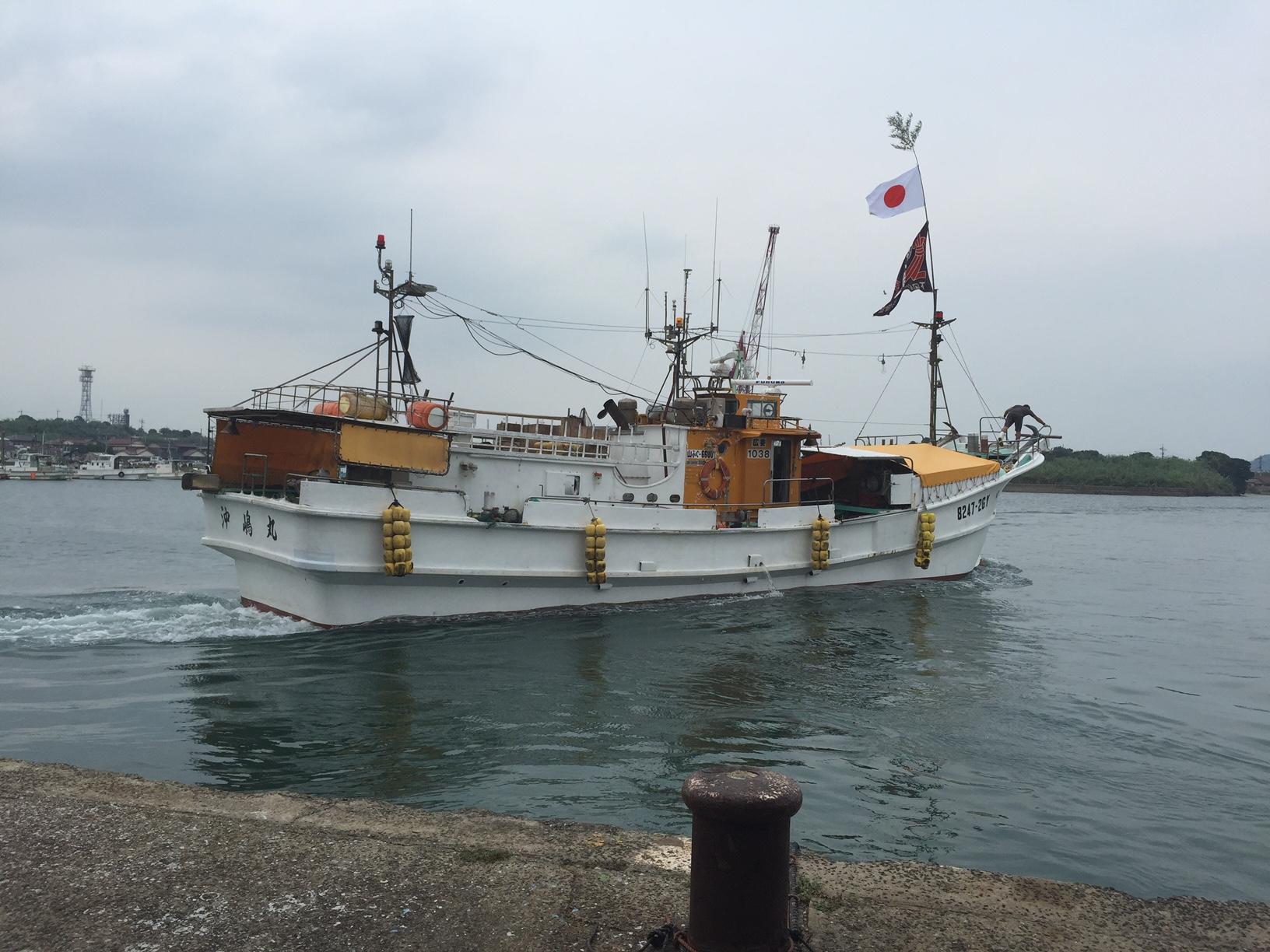 山口県ふぐ延縄船団出港式のメイン画像