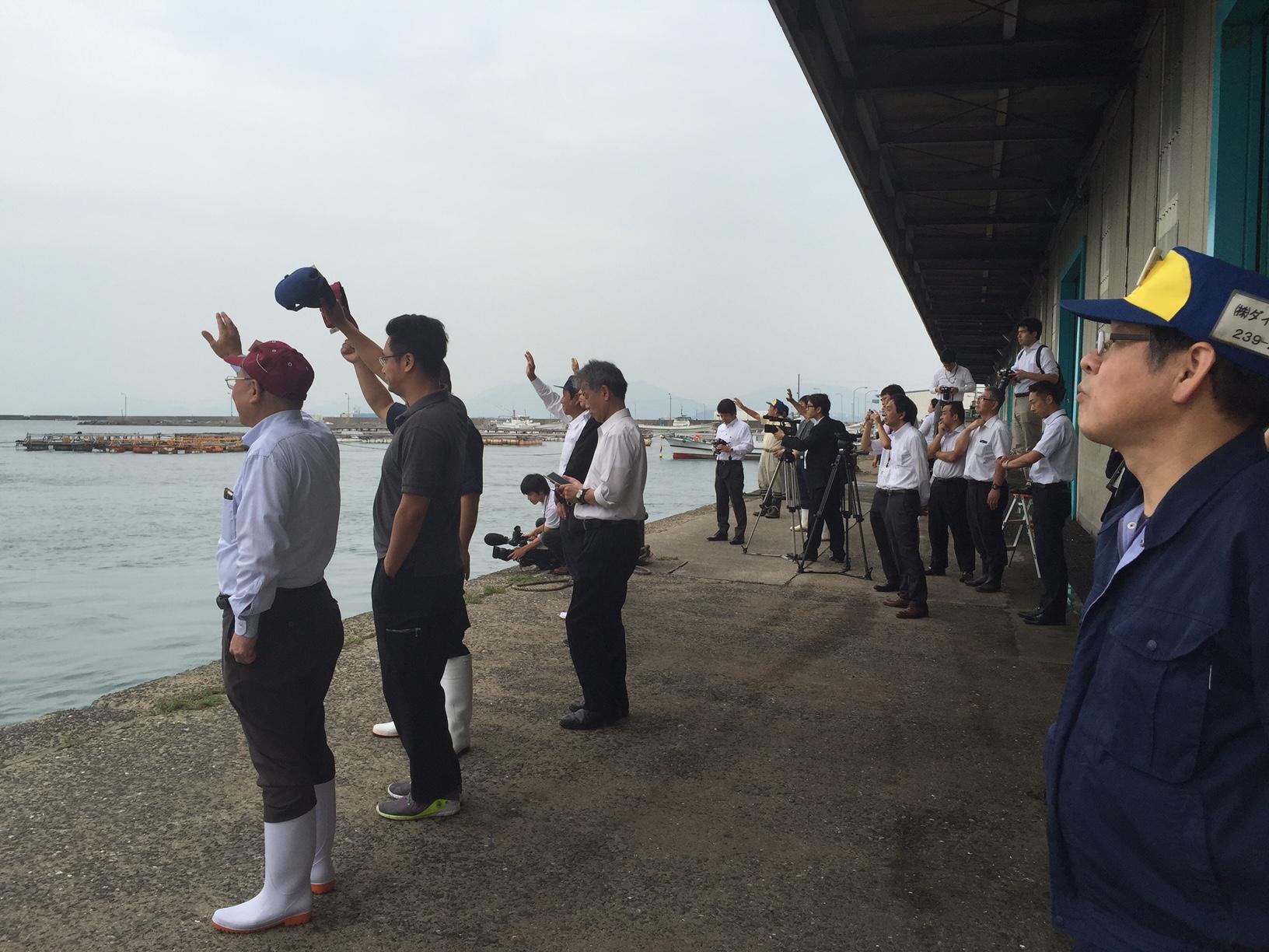 山口県ふぐ延縄船団出港式の画像2